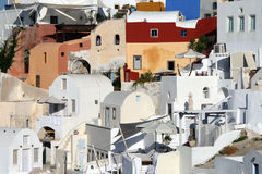Greece, Santorini Oia Royalty Free Stock Photos