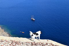 Greece, Santorini, Oia Stock Images