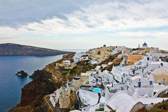 Greece Santorini. royalty free stock photography