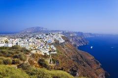 greece santorinisikt Royaltyfri Foto