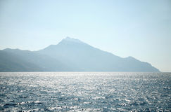 Greece sea landscape Stock Photo