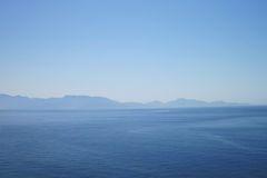 Greece sea (view from kos island) Stock Photography