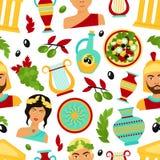 Greece seamless pattern Stock Photo
