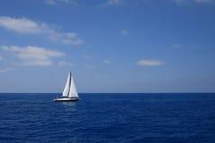 greece segling Royaltyfria Foton