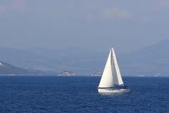 greece segling Royaltyfri Fotografi