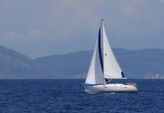 greece segling Royaltyfri Foto