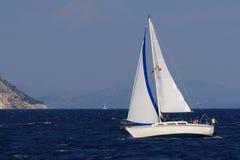 greece segling Arkivfoton