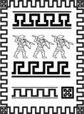 Greece set of patterns Stock Photos