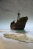 greece shipwreck Zdjęcia Royalty Free