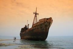 greece shipwreck Obraz Stock