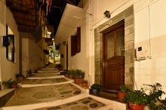 Greece, Skopelos Island, Skopelos Town Royalty Free Stock Image
