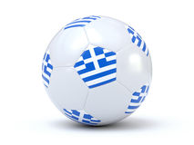Greece Soccer Royalty Free Stock Images