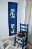 Greece street detail Royalty Free Stock Photo