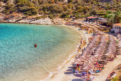 Greece Summer Travel Beach Royalty Free Stock Photo