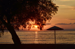 Greece, Sunrise Royalty Free Stock Photography