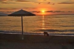 Greece, Sunrise Stock Photography