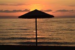 Greece, sunrise Royalty Free Stock Photos