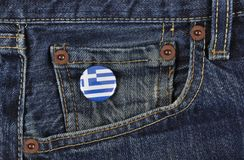 Greece Supporter Royalty Free Stock Photos