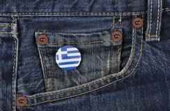 Greece Supporter Royalty Free Stock Photos