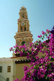 Greece,Symi island,Panormitis monastery. Royalty Free Stock Photos