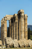 Greece Temple of Olympian Zeus Royalty Free Stock Image