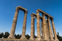 Greece Temple of Olympian Zeus Royalty Free Stock Images