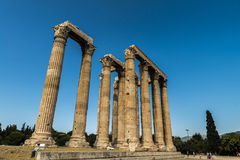 Greece Temple of Olympian Zeus. Eastphoto, tukuchina,  Greece Temple of Olympian Zeus Royalty Free Stock Image
