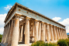 Greece Temple to the Gods Royalty Free Stock Photography
