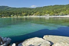 Greece- Thasos island. Europe- North greece- Thasos island, an aegean sea Royalty Free Stock Image