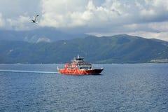 Greece, Thassos Island, Ferry Royalty Free Stock Image