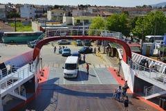 Greece, Thassos Island, transport stock images