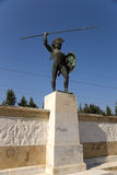 Greece. Thermopylae. A monument to Leonidas Stock Photo