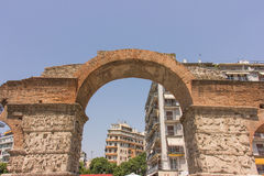 Greece, Thessaloniki, Arch of Galerius Stock Photo