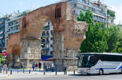 Greece, Thessaloniki, Arch of Galerius Royalty Free Stock Photography