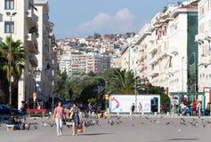 Greece Thessaloniki Downtown Royalty Free Stock Photos
