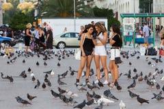 Greece Thessaloniki Downtown Stock Image
