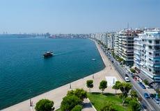 Greece, Thessaloniki, embankment Stock Images