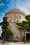 Greece, Thessaloniki, about july 2015, The White Tower Royalty Free Stock Images