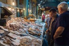 Greece Thessaloniki Modiano Market Stock Image