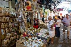 Greece Thessaloniki Modiano Market Stock Photography