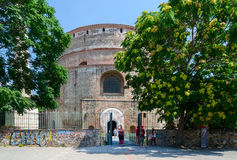 Greece, Thessaloniki, the tomb of the Roman emperor Galerius (Ro Royalty Free Stock Images