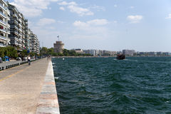 Greece, Thessaloniki. The White Tower Stock Image