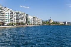 Greece, Thessaloniki. The White Tower Royalty Free Stock Photo