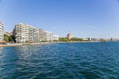 Greece, Thessaloniki. The White Tower Royalty Free Stock Photos