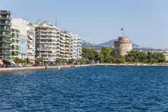 Greece, Thessaloniki. The White Tower Royalty Free Stock Photography