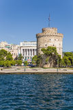 Greece, Thessaloniki. The White Tower Royalty Free Stock Photo