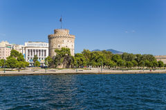 Greece, Thessaloniki. The White Tower Royalty Free Stock Photos