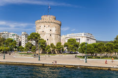 Greece, Thessaloniki. The White Tower Stock Photography