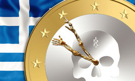 Greece time Royalty Free Stock Photo