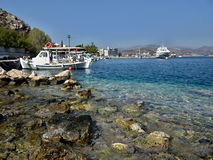 Greece,Tolo-in the harbor Royalty Free Stock Photo